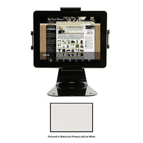 View a larger image of the Peerless PTM400-S Theft Resistant Black Universal Desktop Tablet Mount.