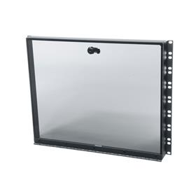 View a larger image of Middle Atlantic Security Cover (8 RU, Hinged Plexi) SECL-8 here.