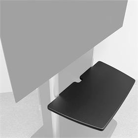 View a larger image of Audio Visual Furniture SH-TP-B Shelf for TP1000 and TP800 Series Stands.