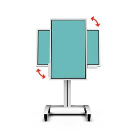 View a large image of the Peerless-AV Rotating Mobile Cart (Samsung Flip) SR560-FLIP here.