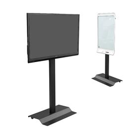 View a larger image of the Audio Visual Furniture SYZ42-B Monitor Stand for Large Screens.