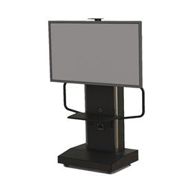 View a larger image of Audio Visual Furniture TP1200-S Large Mobile Telepresence Cart here.