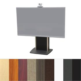 View a larger image of the Audio Visual Furniture TP800-XL Extra Large Fixed Base Telepresence Stand.