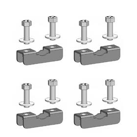 View a larger image of the Chief TPK4 Truss Clamp Kit for 1-2 inch OD (4 Pack).