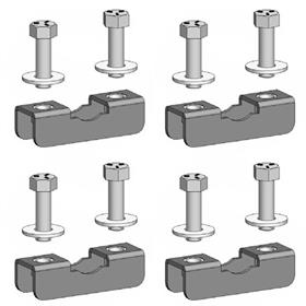 View a larger image of the Chief TPK5 Truss Clamp Kit for 2-3 inch OD (4 Pack).
