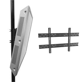View a larger image of the Chief TPMUB Universal Tilt Pole Mount for Large to XL Screens.