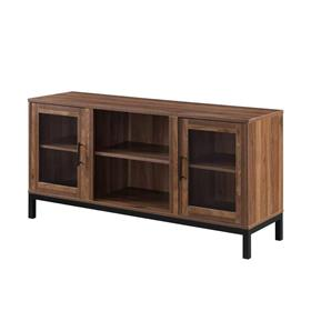 Walker Edison 52 in. Modern TV Stand (Dark Walnut) W52AV2DDW