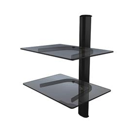 View a larger image of the Crimson WA2 Dual Glass Shelf Wall System.