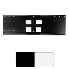 View a larger image of the Peerless WSP724 Triple Metal Stud Wall Plate for 16, 20 & 24